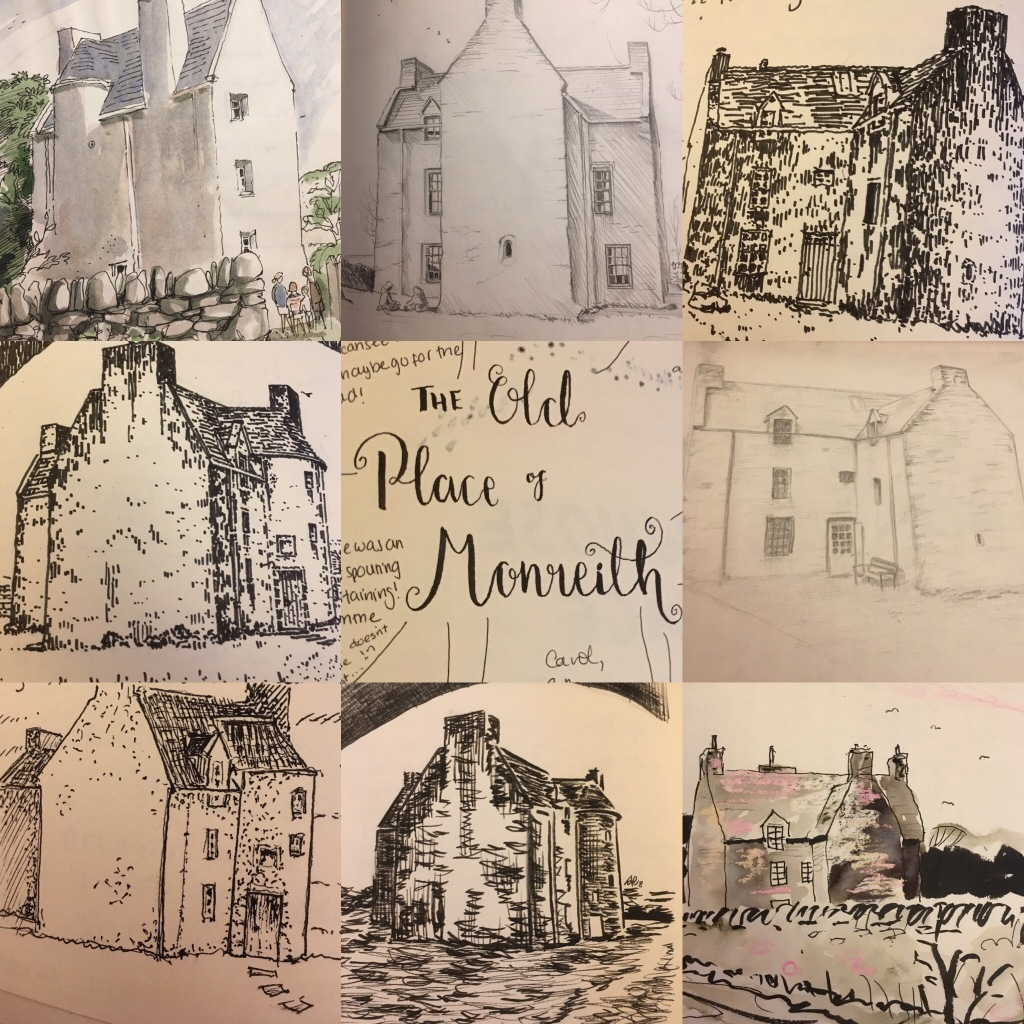 drawings of the Old Place of Monreith