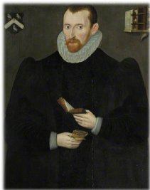 A portrait of Hugh Broughton