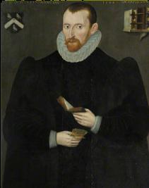 A portrait of Hugh Broughton